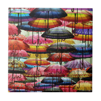 Umbrella Roofing Tile  sc 1 st  Zazzle & Rain And Umbrella Ceramic Tiles | Zazzle memphite.com
