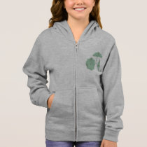 Umbrella Set Girls Hoodie