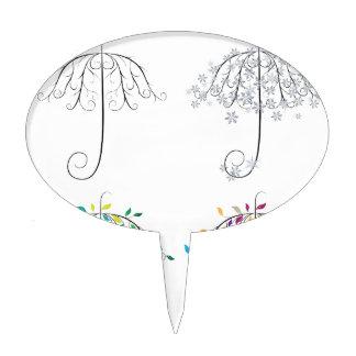Umbrella Shape Tree2 Cake Topper