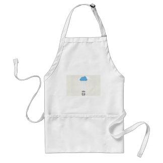Umbrella shelter design adult apron