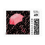 UMBRELLA SHOWERS OF LOVE by SHARON SHARPE Postage