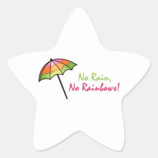 Umbrella Star Sticker