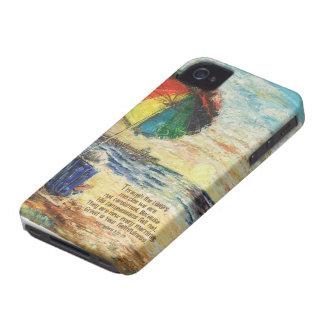 Umbrella Sunrise Lamentations 3:22-23 iPhone 4 Case