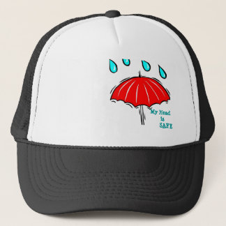 umbrella trucker hat