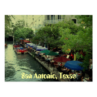umbrellas_1, San Antonio, Texas Postcard