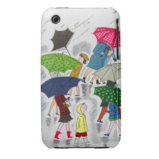 Umbrellas Case-Mate iPhone 3 Case