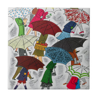 Umbrellas Ceramic Tile