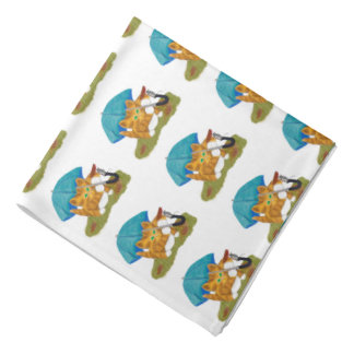 Umbrellas for Mouse and Kitty Bandana