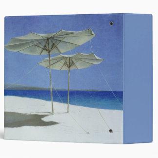 Umbrellas Greece 1995 3 Ring Binder