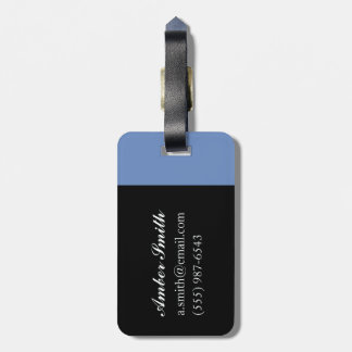Umbrellas Greece 1995 Luggage Tag
