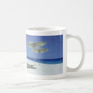 Umbrellas Greece 1995 Classic White Coffee Mug