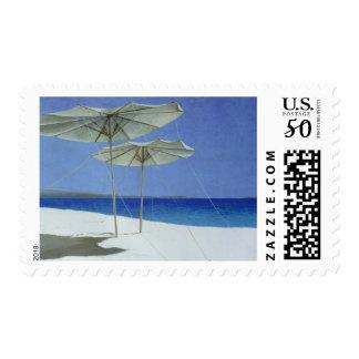Umbrellas Greece 1995 Postage