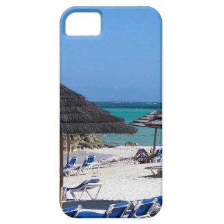 Umbrellas in the Bahamas iPhone SE/5/5s Case