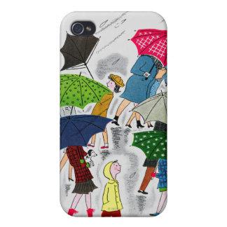 Umbrellas iPhone 4 Cover
