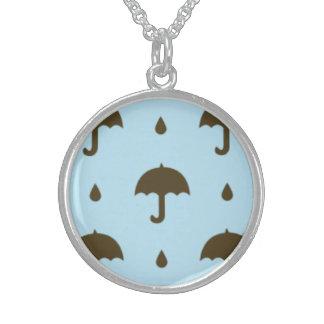 umbrellas jewelry necklace