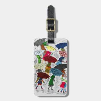 Umbrellas Luggage Tag