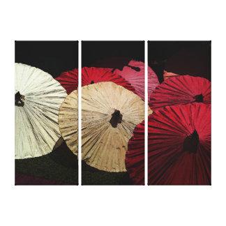 Umbrellas No.2 canvas Canvas Print