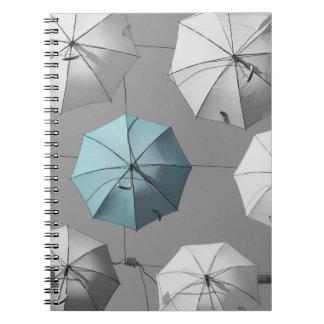 Umbrellas Notebook