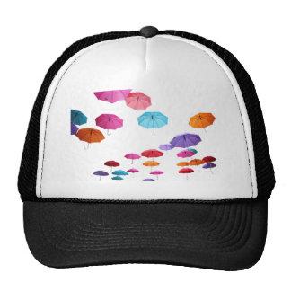 Umbrellas  pattern design trucker hat