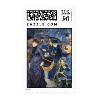 Umbrellas Pierre-Auguste Renoir Mother's Day Card Postage