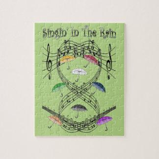 Umbrellas ~ Singin' In The Rain ~ Musical Scale ~ Jigsaw Puzzle