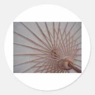 UmbrellaStruts Classic Round Sticker