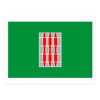 Umbria flag postcard