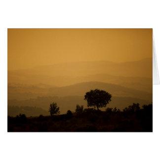 Umbria, Italy Card
