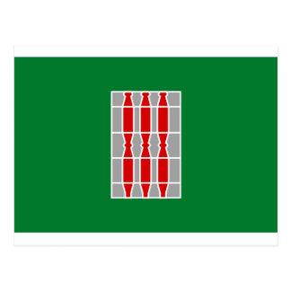 Umbria (Italy) Flag Postcard