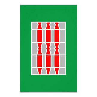 Umbria (Italy) Flag Personalized Stationery