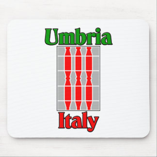 Umbria Italy Mouse Pad