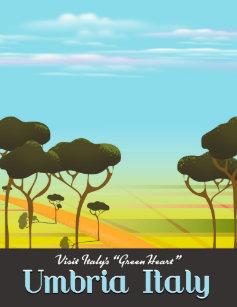 Afbeeldingsresultaat voor umbria tourism poster