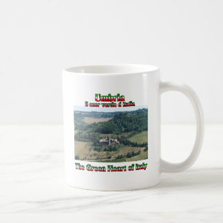 Umbria the Green Heart of Italy Coffee Mug
