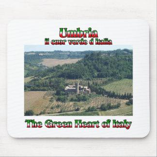 Umbria the Green Heart of Italy Mouse Pad