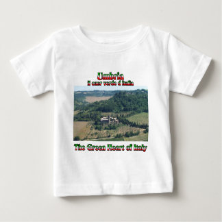 Umbria the Green Heart of Italy T-shirt