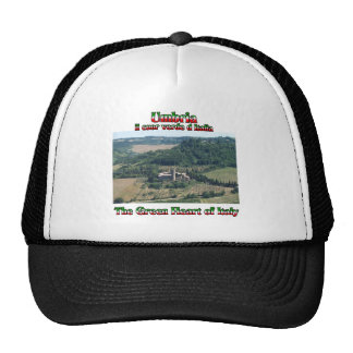 Umbria the Green Heart of Italy Trucker Hat