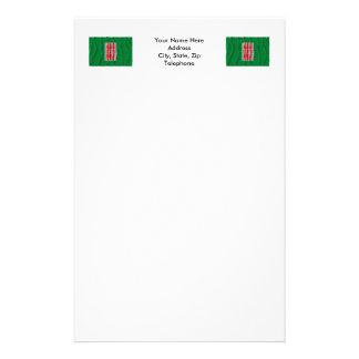 Umbria waving flag stationery