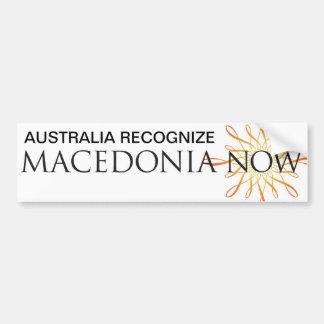 UMD AUSTRALIA BUMPER STICKER