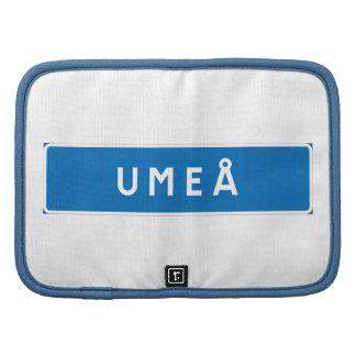 Umea, Swedish road sign Planners