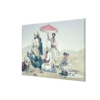 Umeer Dost Mohammed Khan, de 'caracteres y de Lech Impresiones En Lienzo Estiradas