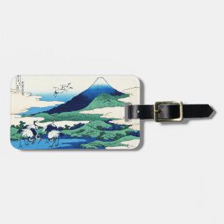 Umegawa in Sagami province Katsushika Hokusai Bag Tag