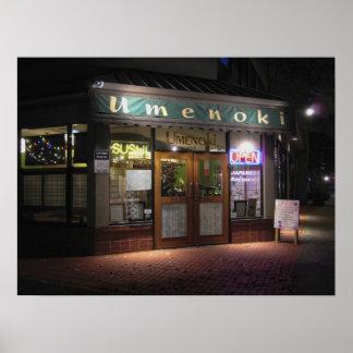 Umenoki Sushi Restaurant - Portland Oregon Print