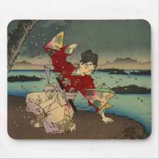 Umewaka en el río de Sumida (2: 3) Alfombrillas De Ratones
