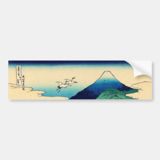 Umezawa in Sagami province Bumper Sticker