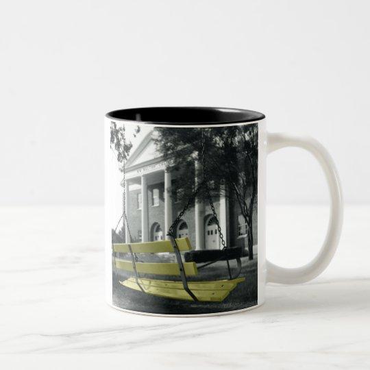 UMHB Swing Two-Tone Coffee Mug