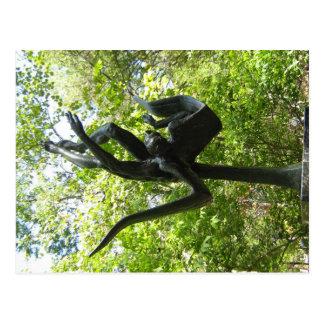 Umlauf Sculpture Garden, Austin Texas Postcard