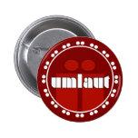 Umlaut Rondell Buttons - Brick Red