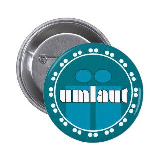 Umlaut Rondell Buttons - Ocean Blue