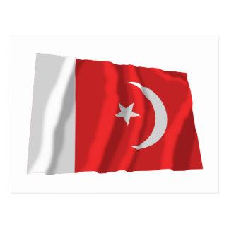 Umm al-Quwain Waving Flag Postcard