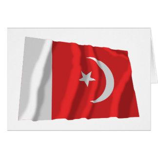 Umm bandera que agita del al-Quwain Tarjeta De Felicitación
